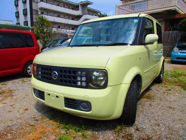 沖縄県沖縄市の中古車ならキューブ 14S 決算セール