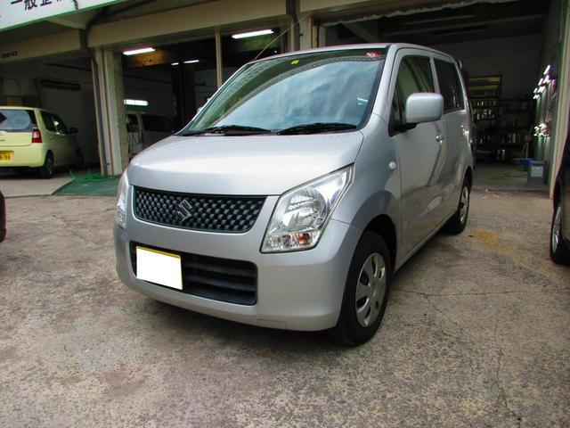 沖縄の中古車 スズキ ワゴンR 車両価格 22万円 リ済込 2012(平成24)年 17.4万km シルバー
