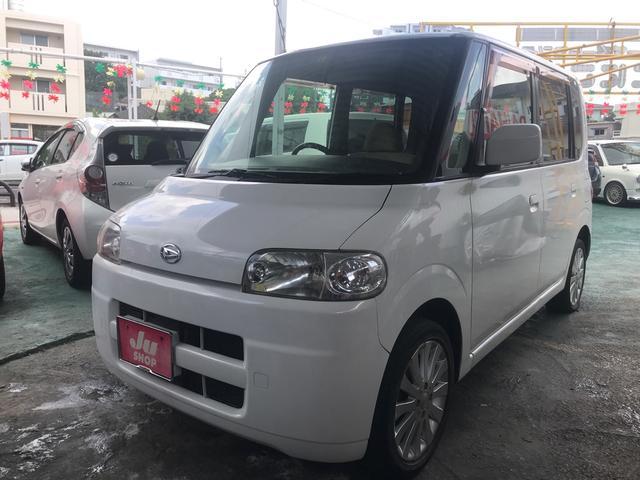 沖縄県の中古車ならタント L セール開催中 キーレス ナビ 社外アルミ