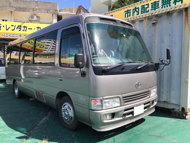 沖縄の中古車 トヨタ コースター 車両価格 ASK リ済込 2005(平成17)年 19.9万km グレーM