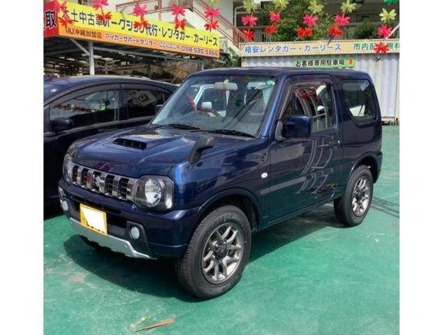沖縄県沖縄市の中古車ならジムニー XG パートタイム4WD 高低二段切替式 インタークーラーターボ 5MT