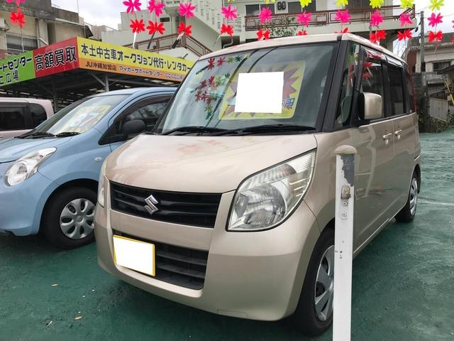 沖縄県の中古車ならパレット X スマートキー プッシュスタート 左パワースライドドア 社外CD オートエアコン