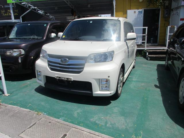 沖縄の中古車 スバル デックス 車両価格 25万円 リ済込 2009(平成21)年 10.3万km パール
