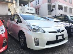 沖縄の中古車 トヨタ プリウス 車両価格 84万円 リ済込 平成23年 10.4万K パール