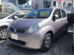 沖縄の中古車 トヨタ パッソ 車両価格 71万円 リ済込 平成25年 1.2万K ピンク