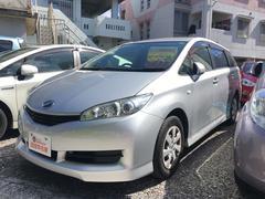 沖縄の中古車 トヨタ ウィッシュ 車両価格 71万円 リ済込 平成23年 5.3万K シルバー