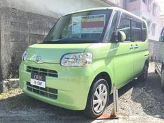 沖縄の中古車 ダイハツ タント 車両価格 74.1万円 リ済込 平成24年 4.4万K グリーン