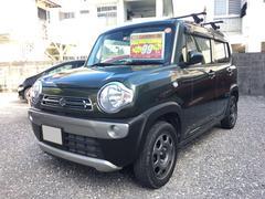 沖縄の中古車 スズキ ハスラー 車両価格 95万円 リ済込 平成27年 2.6万K カーキ