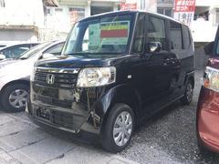 沖縄の中古車 ホンダ N BOX 車両価格 90.4万円 リ済込 平成26年 4.1万K ブラック