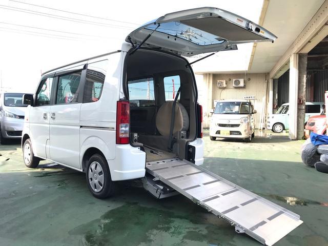 沖縄の中古車 スズキ エブリイワゴン 車両価格 90万円 リ済込 平成25年 4.4万km ホワイト