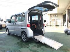 タント福祉車両 スローパー ピラーレス 電動ウインチ ベンチシート