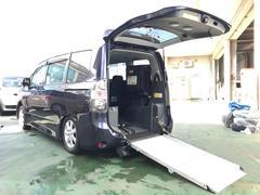 ヴォクシー福祉車両 ウェルキャブ 電動スローパー 電動ウインチ