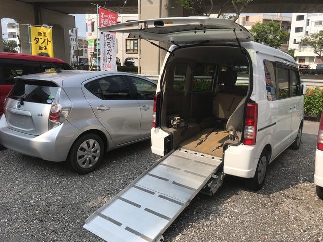 沖縄県の中古車ならエブリイ 福祉車両 スローパー 車椅子1基載
