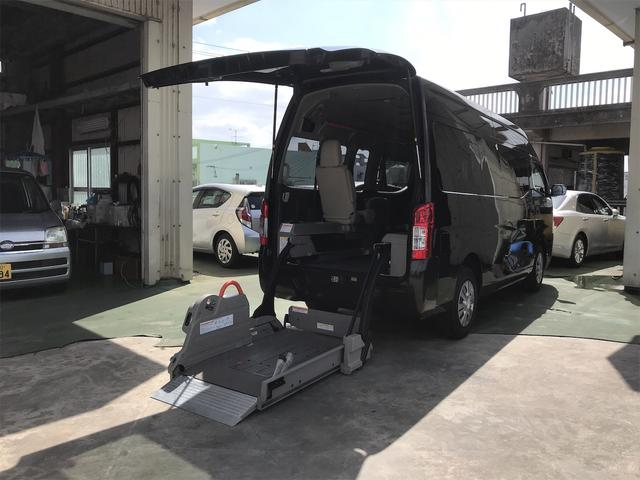 沖縄県の中古車ならNV350キャラバンバン 福祉車両 ストレッチャー対応 タクシーメーター付