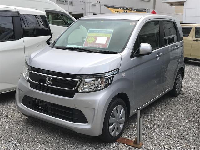 沖縄の中古車 ホンダ N-WGN 車両価格 77万円 リ済込 2015(平成27)年 8.7万km シルバー