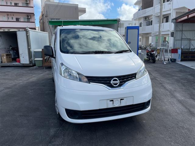 沖縄の中古車 日産 NV200バネットバン 車両価格 144万円 リ済込 2015(平成27)年 3.4万km ホワイト