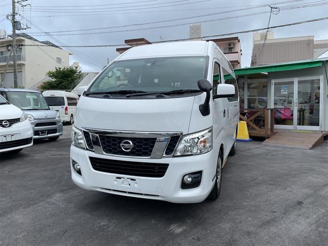 沖縄の中古車 日産 NV350キャラバンバン 車両価格 218万円 リ済込 2016(平成28)年 5.9万km ホワイト