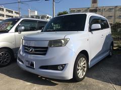 沖縄の中古車 トヨタ bB 車両価格 15万円 リ済込 平成18年 14.4万K ブルーイッシュホワイトパールマイカ