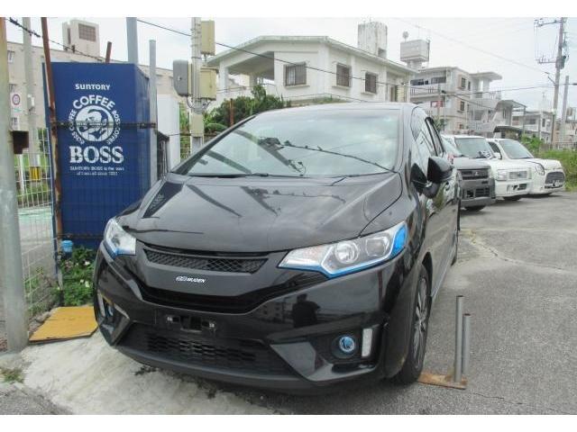 沖縄県の中古車ならフィットハイブリッド Sパッケージ 無限タイプ HDDナビ ワンセグTV