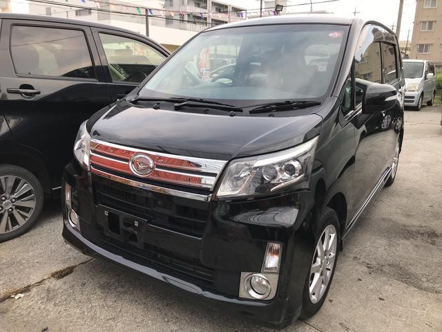 沖縄の中古車 ダイハツ ムーヴ 車両価格 55万円 リ済込 2013(平成25)年 10.0万km ブラックM