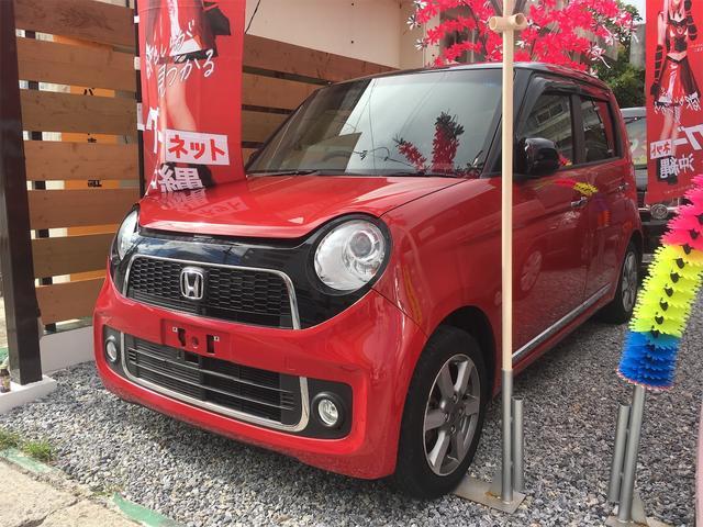 沖縄の中古車 ホンダ N-ONE 車両価格 59万円 リ済込 2013(平成25)年 10.4万km レッドII