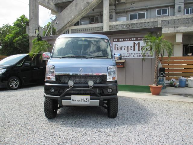 沖縄の中古車 スズキ エブリイワゴン 車両価格 ASK リ済込 2010(平成22)年 12.5万km ライトブルーM
