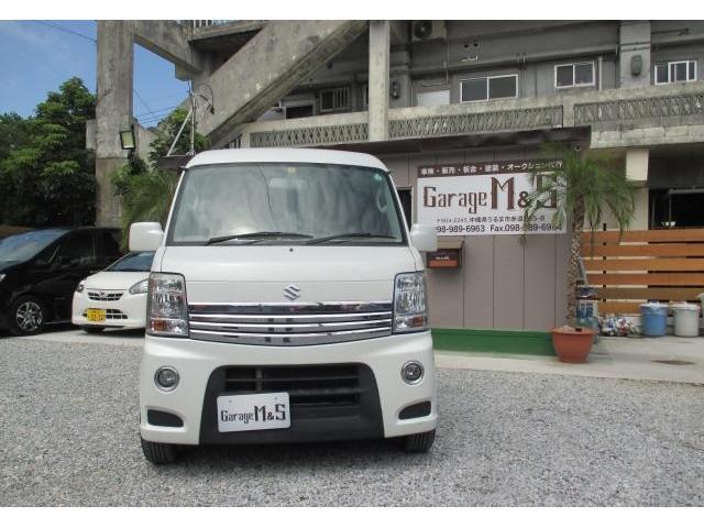 沖縄の中古車 スズキ エブリイワゴン 車両価格 69万円 リ済込 2011(平成23)年 13.0万km パールホワイト