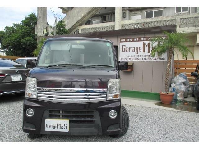 沖縄県の中古車ならエブリイワゴン PZターボスペシャル キーレス レアマイスター16インチアルミ ローダウン 両側パワースライドドア オートステップ DVDビデオ