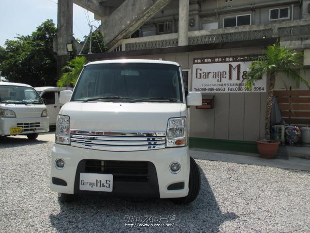 沖縄の中古車 日産 NV100クリッパーリオ 車両価格 79万円 リ済込 2014(平成26)年 10.7万km スノーパールホワイト