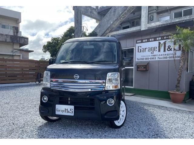沖縄の中古車 日産 NV100クリッパーリオ 車両価格 79万円 リ済込 2015(平成27)年 10.1万km ブルーイッシュブラックP