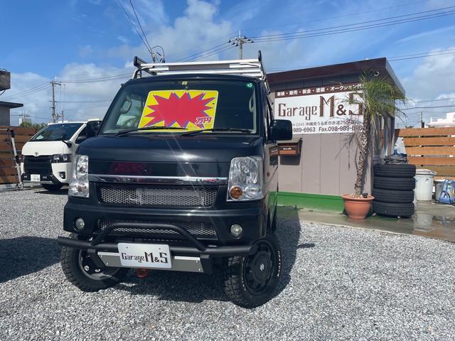 沖縄の中古車 スズキ エブリイワゴン 車両価格 98万円 リ済込 2011(平成23)年 13.7万km ブルーイッシュブラックパール3