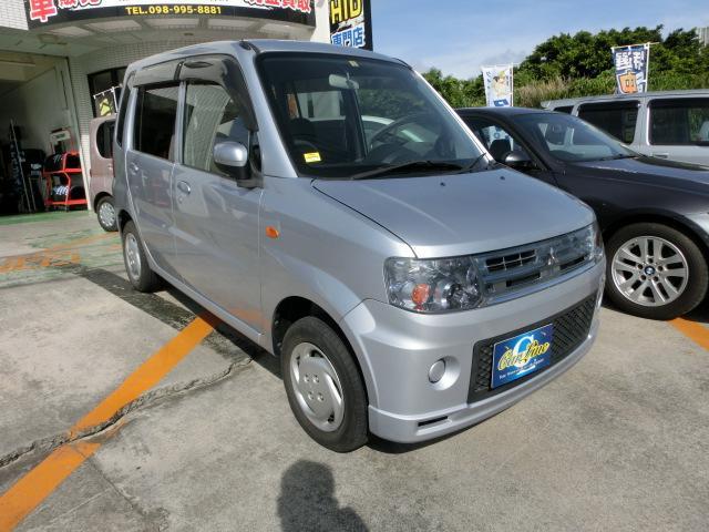 沖縄の中古車 三菱 トッポ 車両価格 45万円 リ済別 平成24年 0.8万km シルバーM