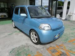 沖縄の中古車 ダイハツ エッセ 車両価格 25万円 リ済別 平成22年 6.8万K ライトブルー