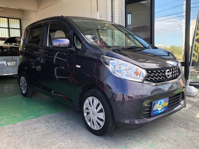 沖縄の中古車 日産 デイズ 車両価格 43万円 リ済別 平成25年 9.9万km パープルM