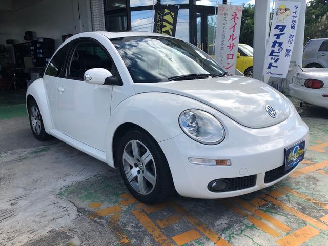 沖縄の中古車 フォルクスワーゲン VW ニュービートル 車両価格 38万円 リ済別 2007年 6.2万km ホワイト