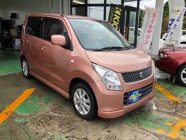 沖縄の中古車 スズキ ワゴンR 車両価格 33万円 リ済別 平成20年 5.0万km アンティークローズメタリック