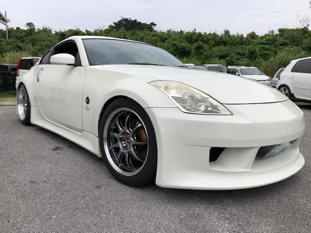 沖縄県の中古車ならフェアレディZ バージョンS 柿本マフラー WORKアルミ  TEIN車高調