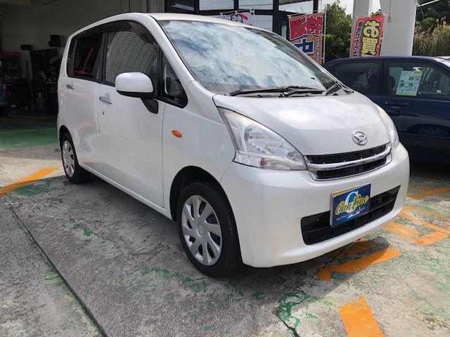 沖縄の中古車 ダイハツ ムーヴ 車両価格 38万円 リ済別 2012(平成24)年 9.1万km ホワイト