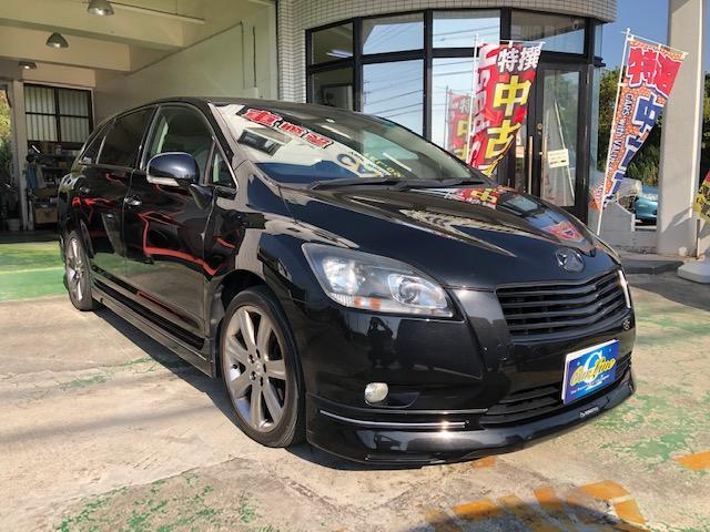 沖縄県豊見城市の中古車ならマークXジオ 240G ブラックパールリミテッド