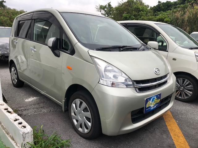 沖縄の中古車 ダイハツ ムーヴ 車両価格 45万円 リ済別 2011(平成23)年 5.6万km ゴールドM
