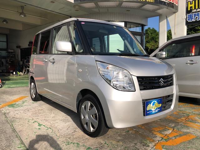 沖縄の中古車 スズキ パレット 車両価格 33万円 リ済別 2008(平成20)年 8.1万km シルバーM