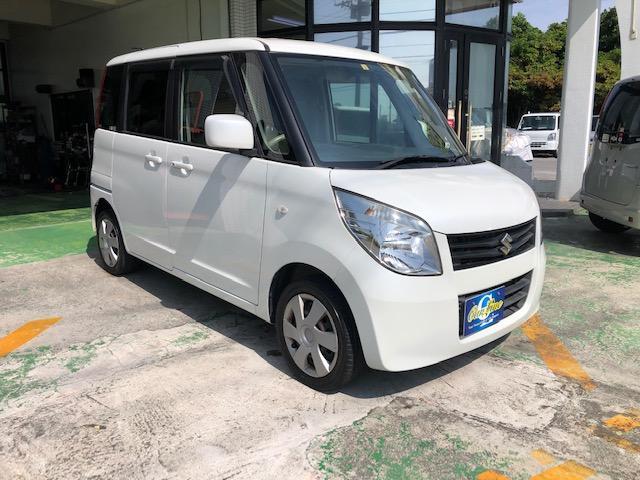 沖縄の中古車 スズキ パレット 車両価格 37万円 リ済別 2010(平成22)年 9.2万km ホワイトM