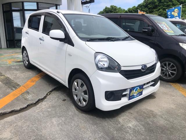 沖縄の中古車 スバル プレオプラス 車両価格 33万円 リ済別 2016(平成28)年 11.6万km ホワイト