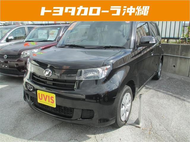 沖縄の中古車 トヨタ bB 車両価格 110万円 リ済別 平成26年 3.9万km ブラック