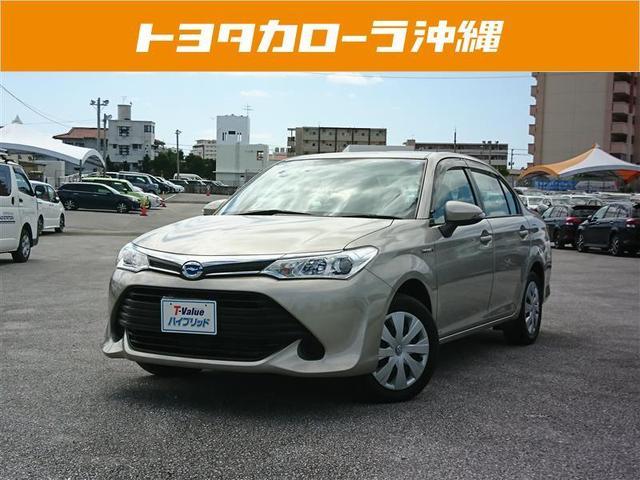沖縄の中古車 トヨタ カローラアクシオ 車両価格 129万円 リ済別 平成28年 2.8万km ベージュ