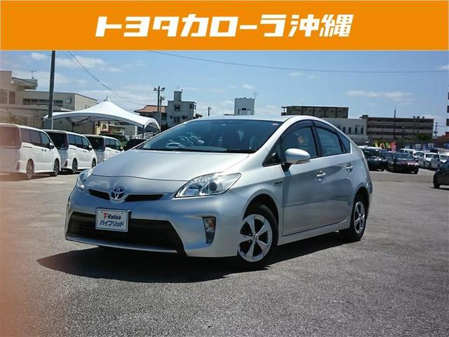 沖縄の中古車 トヨタ プリウス 車両価格 121.2万円 リ済別 2013(平成25)年 4.6万km シルバー