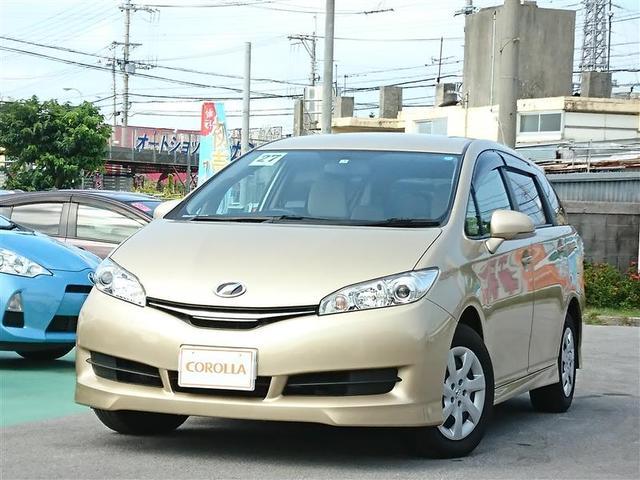 沖縄の中古車 トヨタ ウィッシュ 車両価格 148万円 リ済別 2015(平成27)年 4.5万km ゴールド