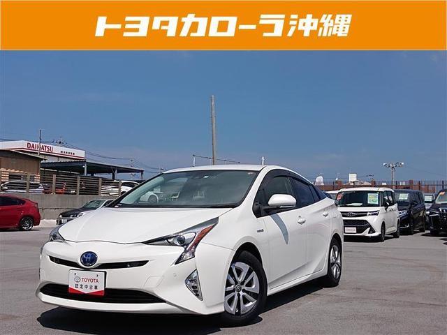 沖縄の中古車 トヨタ プリウス 車両価格 180万円 リ済別 2017(平成29)年 5.7万km パールマイカ