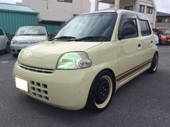 沖縄の中古車 ダイハツ エッセ 車両価格 25万円 リ済込 平成19年 6.7万K ライトイエロー