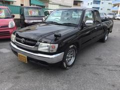 沖縄の中古車 トヨタ ハイラックススポーツピック 車両価格 88万円 リ済込 平成14年 走不明 ブラック
